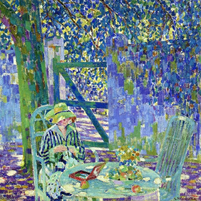 лето пополудни по Louis Ritman (1889-1963, Russia)