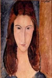 Amedeo Modigliani - Жанна Эбютерн