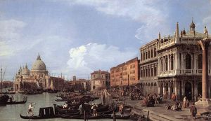 Giovanni Antonio Canal (Canaletto) - ETTO моло глядя на запад