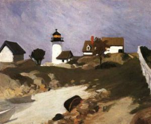Edward Hopper - Сквам свет
