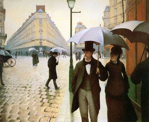 Gustave Caillebotte - Париж место де l Европа
