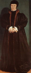Hans Holbein The Younger - Кристина Дании