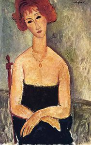 Amedeo Modigliani - без названия 1907