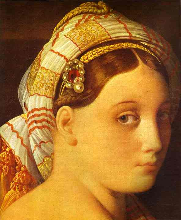 без названия 3615   по Jean Auguste Dominique Ingres (1780-1867, France)