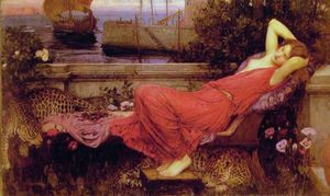 John William Waterhouse - без названия 3122