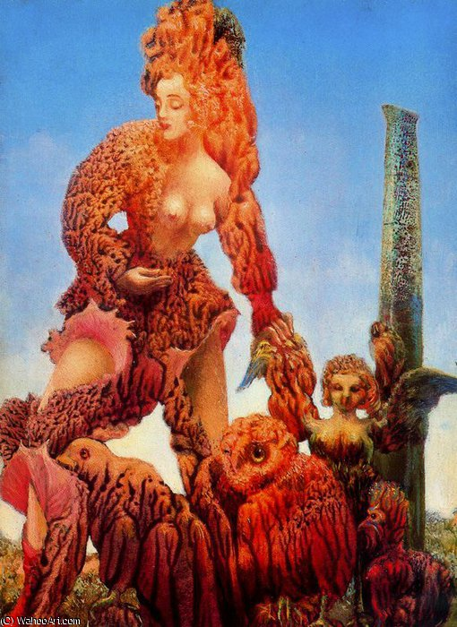 по Max Ernst (1891-1976, Germany) | Репродукции Музея | WahooArt.com