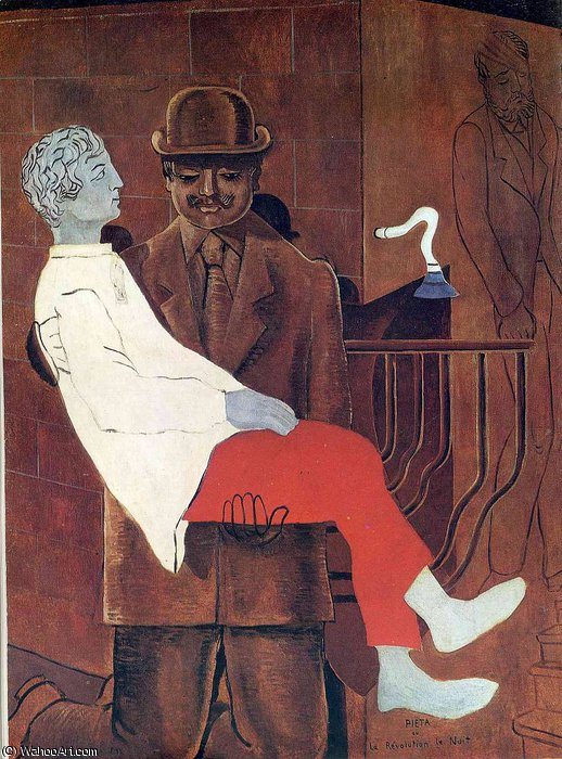 без названия 6030   по Max Ernst (1891-1976, Germany)