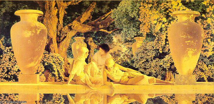 по Maxfield Parrish (1870-1966, United States)