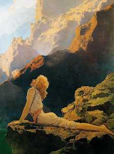 Maxfield Parrish - Дикие гуси