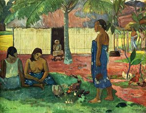 Paul Gauguin - Без названия (3986)