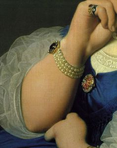 Jean Auguste Dominique Ingres - Дельфина Рамела, мадам Энгр d1