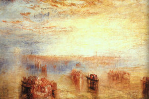 William Turner - подход к Венеция