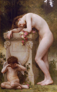 William Adolphe Bouguereau - Douleur дамур