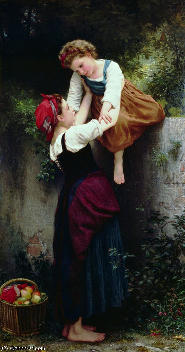 Petites maraudeuses по William Adolphe Bouguereau (1825-1905, France) | Репродукции Музея | WahooArt.com