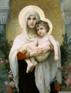 William Adolphe Bouguereau - Мадонна РОЗЫ