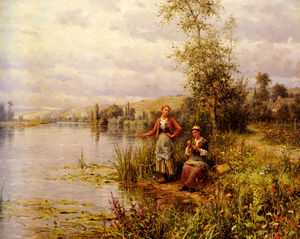 Louis Aston Knight - страна женщины за  Рыбалка  в     летние  во второй половине дня