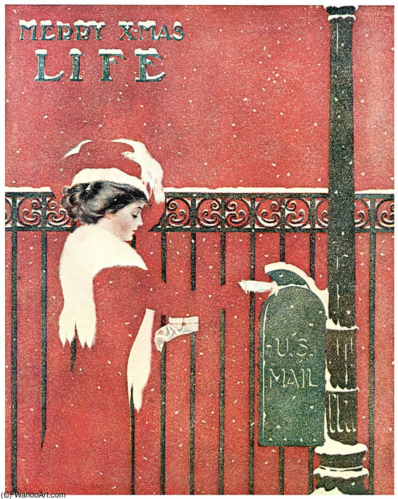 Без названия (444) по Coles Phillips (1880-1927, United States)