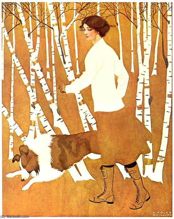 без названия 647   по Coles Phillips (1880-1927, United States)