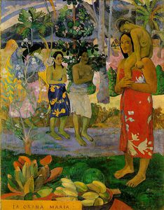 Paul Gauguin - Мы Град  Тебя  мария  митрополит