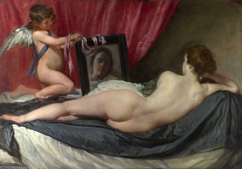 'Ла Туалетная ди Venere' по Diego Velazquez (1599-1660, Spain) .