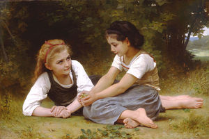 William Adolphe Bouguereau - Их фрикадельки