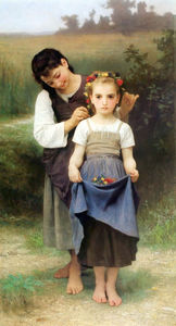 William Adolphe Bouguereau - Parure дез Чемпионы