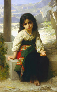 William Adolphe Bouguereau - Миниатюрная mendiante
