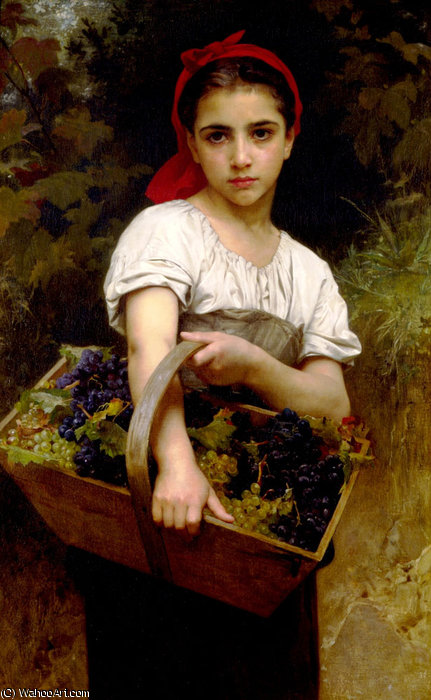 Виноград Выбор по William Adolphe Bouguereau (1825-1905, France)
