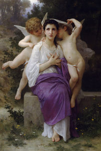 William Adolphe Bouguereau - Тем heart's пробуждение