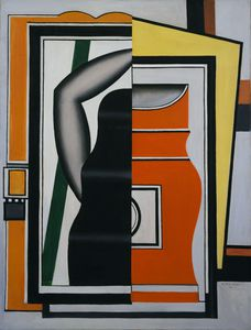 Fernand Leger - Зеркало