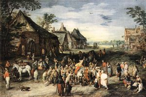 Jan Brueghel The Elder - Санкт-Мартин
