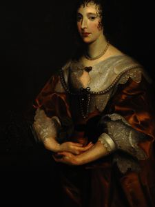 Anthony Van Dyck - Генриетта Мария - (11)
