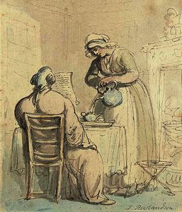 Thomas Rowlandson - тем бакалавр