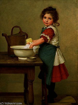 по George Dunlop Leslie (1835-1921, United Kingdom)