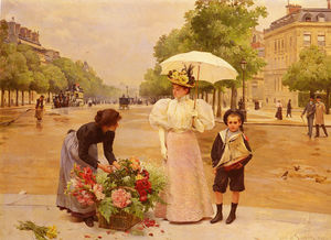 Louis Marie De Schryver - L - проспект _ _ де Champs Elysees -