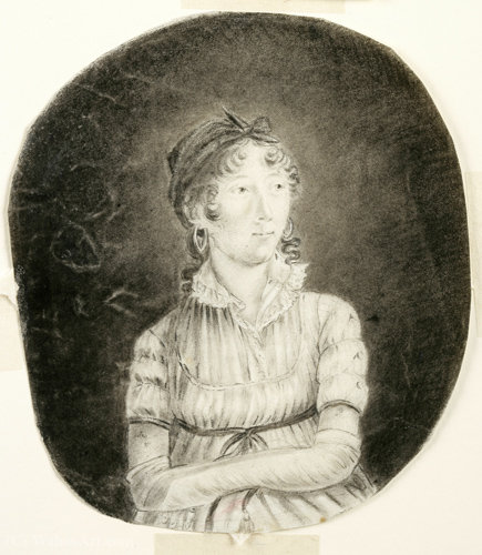 Автопортрет по Anne Marguerite Hyde De Neuville (1771-1849, France)