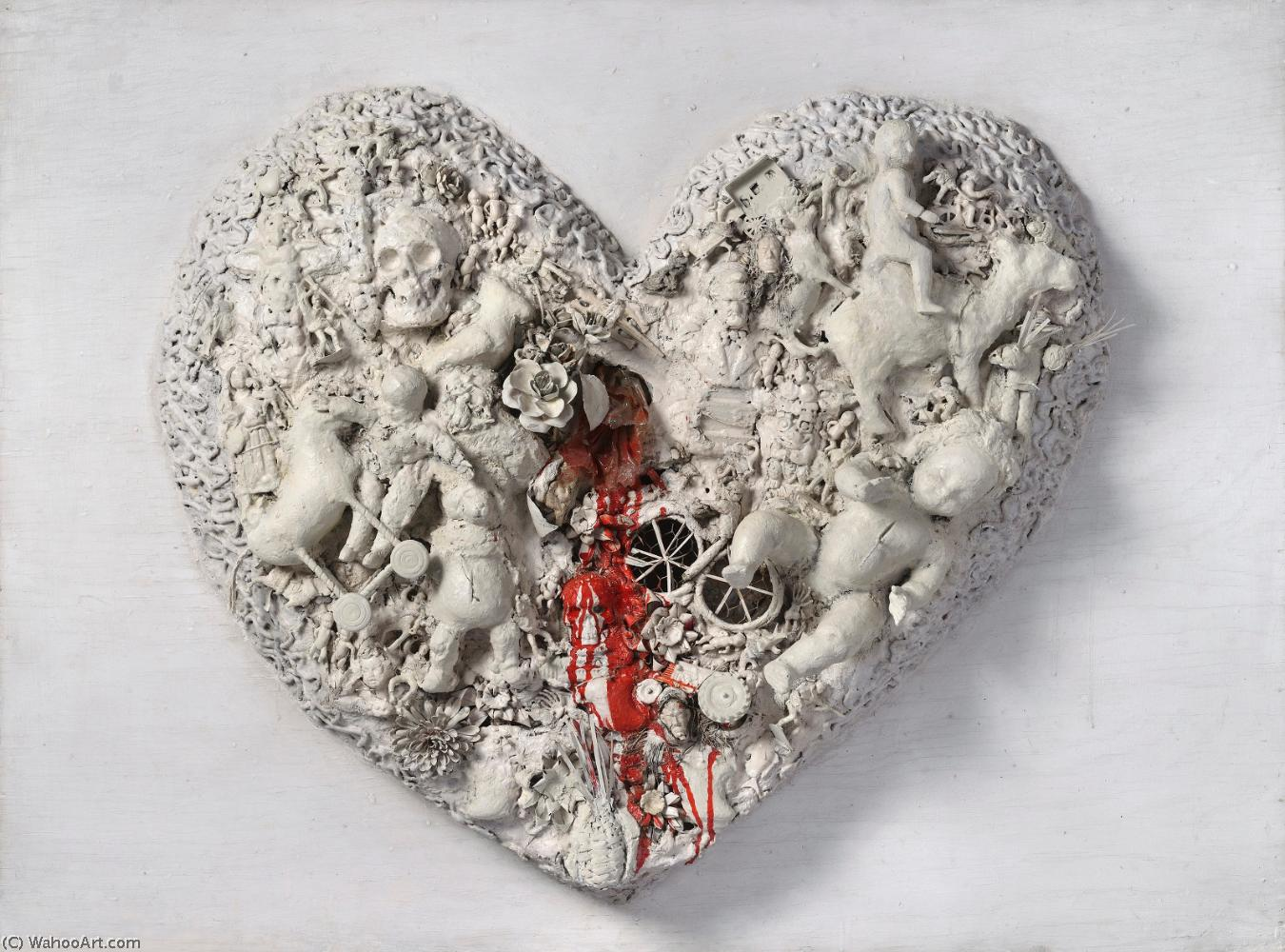 Сердце по Niki De Saint Phalle (1930-2002, France)