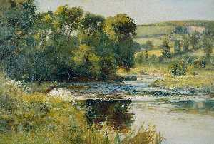 Edward Mitchell Bannister - Streamside