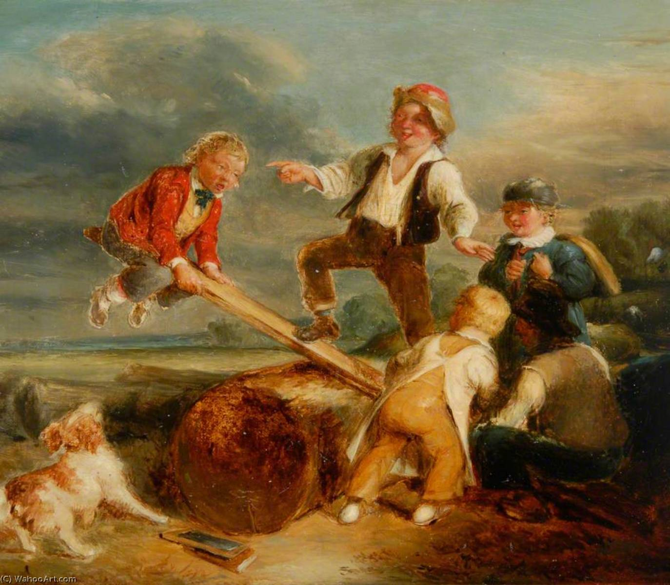 См пила по William Mulready The Younger (1786-1863, Ireland) | WahooArt.com