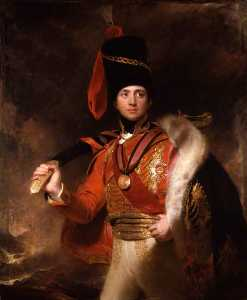 Thomas Lawrence - Чарльз Уильям  Флюгер  Стюарт  3rd   Маркиз  самого  Лондондерри