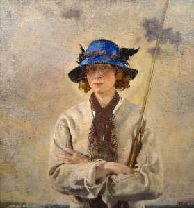 William Newenham Montague Orpen - Рыболов