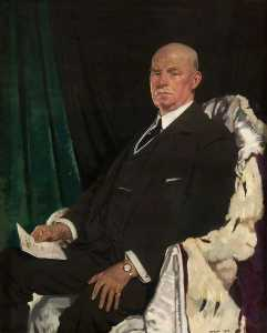 William Newenham Montague Orpen - сэр томас Пакстон ( 1860–1930 ) , лорд-мэр глазго ( 1920–1923 )