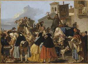 Giandomenico Tiepolo - L'ARRACHEUR ДЕ ВМЯТИНЫ