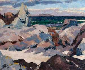 Francis Campbell Boileau Cadell - Лунга из  Ионы