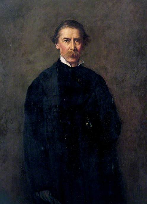 сэр Генри  Томпсон , холст, масло по John Everett Millais (1829-1896, United Kingdom)