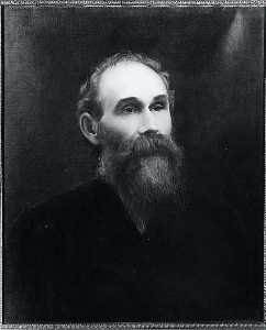 William Woodruff Gibbs - Портрет Терон Мельник ( 1839 1890 ) , ( покраска )