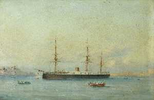 Luigi Galea - HMS 'Monarch'