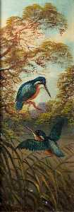 Alfred Worthington - Kingfishers