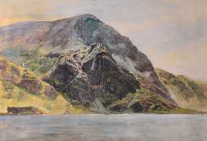 Frederick William Hayes - Тот Wolf's Замок , llyn cwellyn