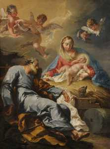 Giovanni Battista Pittoni The Younger - Presepio